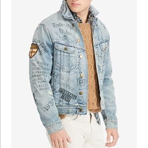 Polo Jacket Denim College Inspired